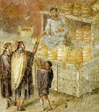 Bakeries in Pompeii