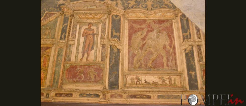 Affresco Le Decorazioni Di Pompei Pompeiin